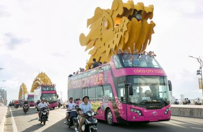Lịch trình xe buýt Coco City Tour Cocobay Đà Nẵng mới nhất 2018