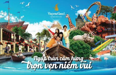 Kinh nghiệm du lịch Vinpearl Land Nam Hội An